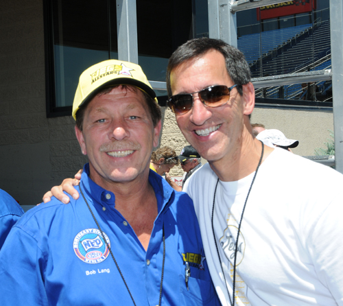 NED's own Lewis Bloom with D1 Director Bob Lang