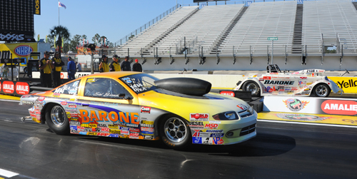 Kevin Robb has Barone's Chevy in the #2 spot