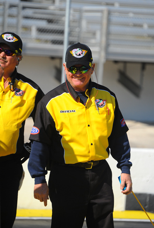 NHRA Division One Started Carl B looks good in the new Mellow Yellow colors