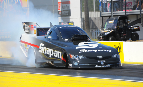 Cruz put the Snap On Toyota in the #1 spot in F/C