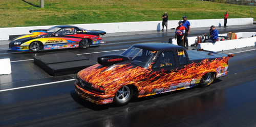 The finals of Super Gas came down to two of the best racers on the East Coast