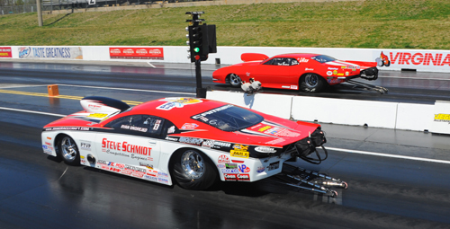 The two quickest cars in the field met in the finals of Top Sportsman with Ryan beating Tood for the trophy