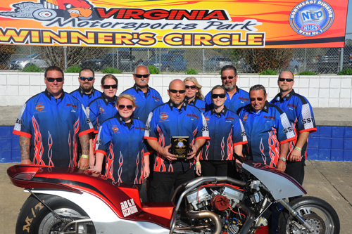 Best Appearing Crew: The Turner Top Fuel Harley