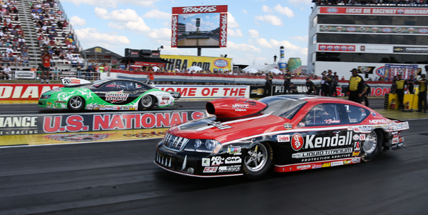 Mike Edwards over V Gaines in Pro Stock