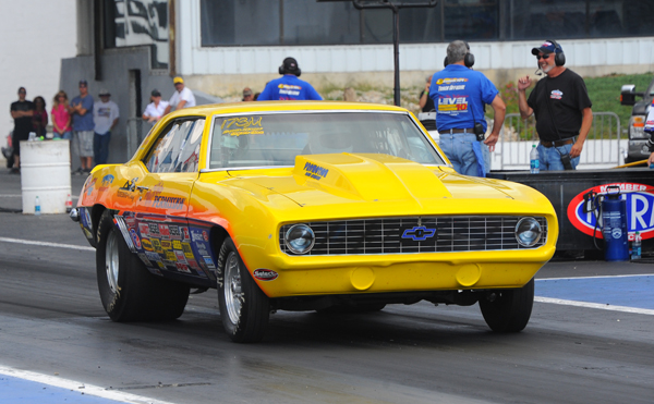 Maggulli's Chevy took his first ever Lucas Oil Divisional