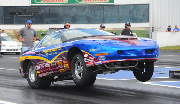 Tom Boucher took his Firebird to the finals of Super Stock