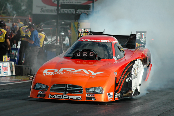 Johnny Gray hung up his driving gloves in 2013 after a career in Pro Mod, Pro Stock, and Top Fuel Funny Car