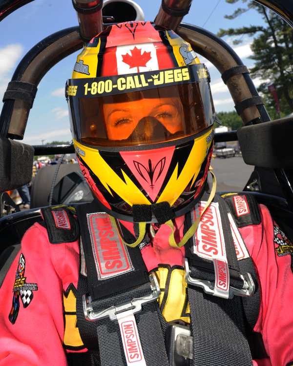 Canadian Super Comp racer Samantha Kenny