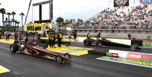 Top Dragster was contested at the Gators with
