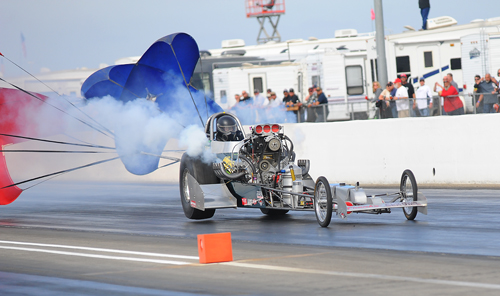 You don't see this kind of stuff at a regular NHRA event!