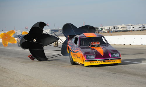 Broomhill PA racer Pete Gallen sits in the #10 spot with his Monza running a best of 5.829