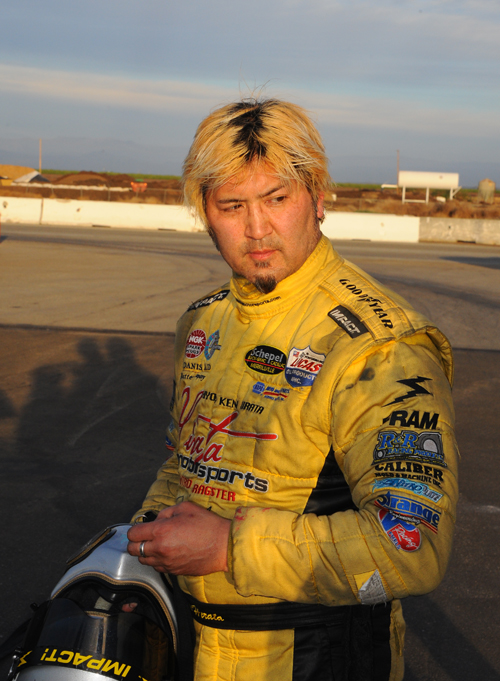 A dejected Hirata after checking out the condition of the Top Fueler