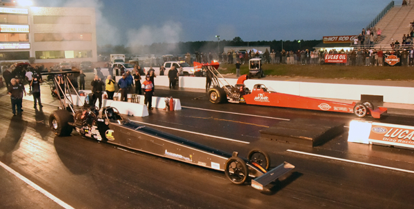 T/AD winner Jeff Veale carded three 280+ MPH passes on his way to his first ever NHRA win