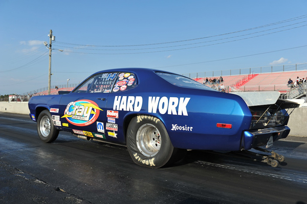 The Hard Work Mopar of Jason Lawrence took home the Super Street Wally