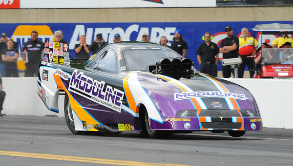 Matt Gill, son of long time NED racer Paul Gill, made his father proud taking the family Moduline Mustang FC to the finals at the Grove