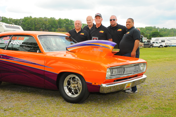 Best Appearing Car Brian Martel's SS/AM Duster built by Ken Kerr and paint by Bucky Hess