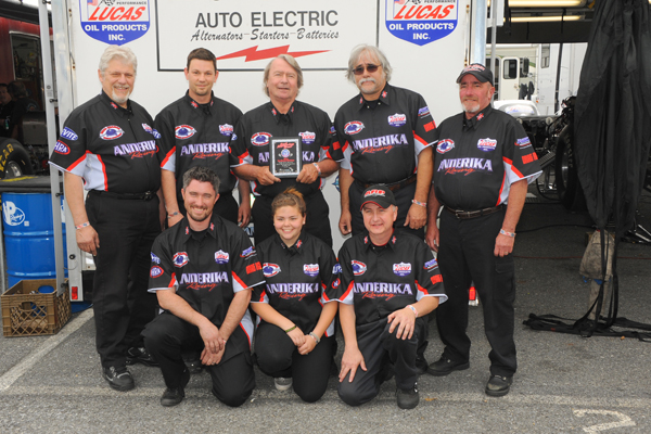 Best Appearing Crew award went to the TA/FC team of Andreka/East Coast Auto Electric