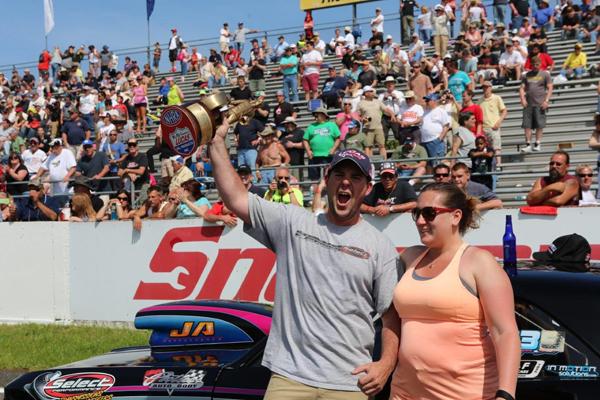 John Olsen, Super Gas champ at E Town