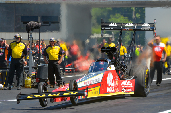 TF runner up Doug Kalitta set Top Speed and Low ET at the Toyota Summernationals