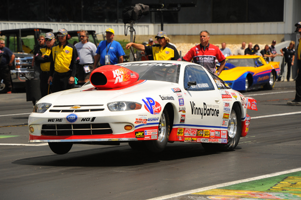 Scotty Richardson drove Vinny Barone's Chevy to a well deserved win in Comp