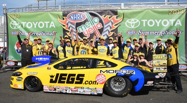 Jeg Coughlin winner's circle