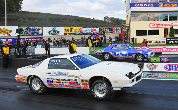 The finals of Super Stock were already decided as Doug Ch  left too soon handing Fletcher the win