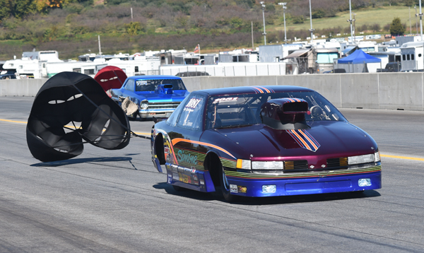 Tom Simone put his Olds in the finals of Top Sportsman
