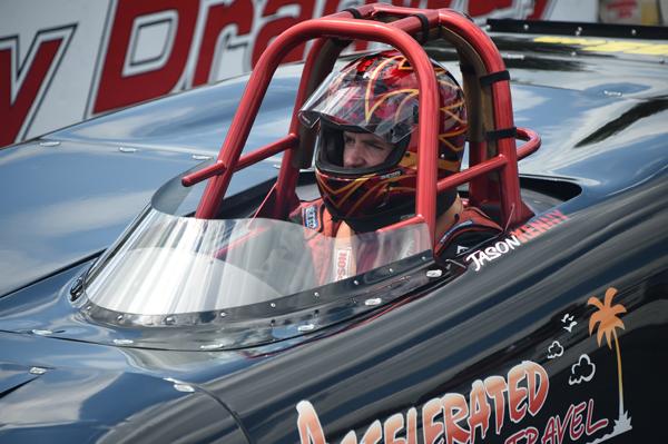 Pro Sportsman racer Jason Kenny
