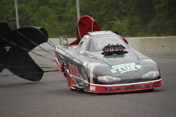 Mickey Ferro, 2014 Eastern Region Alcohol Funny Car champ