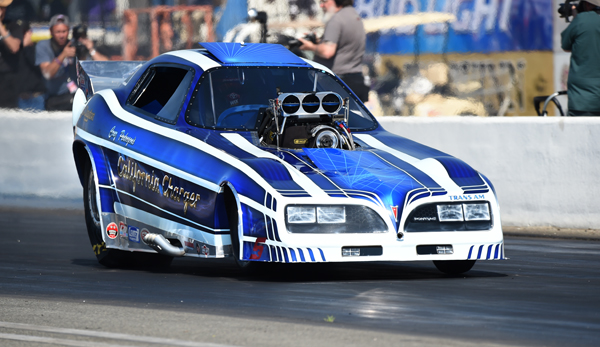 Cruz sat out the final eliminations after not getting his California Charger into the quick 16