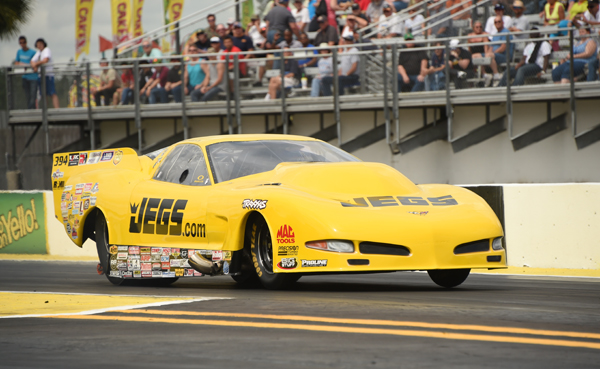 Troy Jr speeds to the #1 spot in Pro Mod