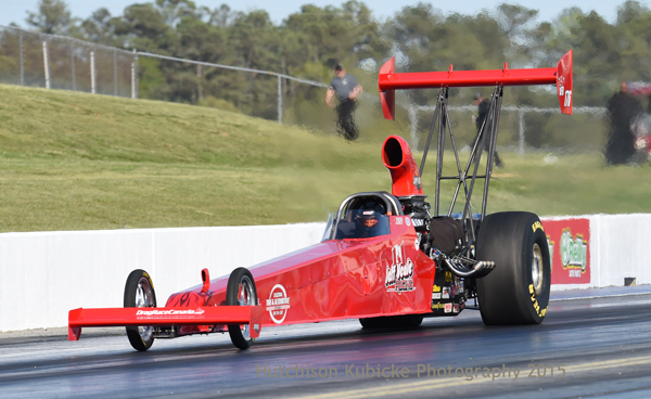2014 Richmond T/AD winner Jeff Veale failed to crack the quick 8 for the final eliminations with a best of 5.58 and the bump was a 5.48