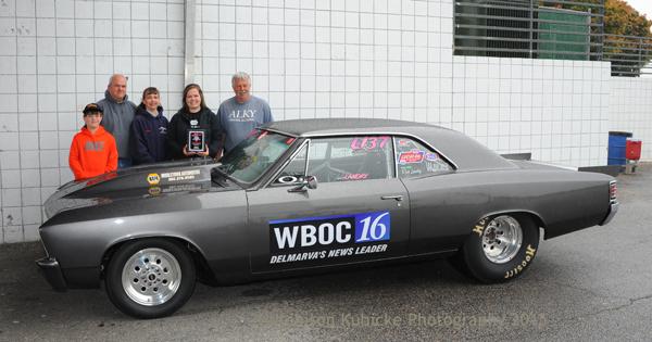 Best Engineered went to Delaware racer Laura Landry in her sharp '67 Chevelle Super Street racer