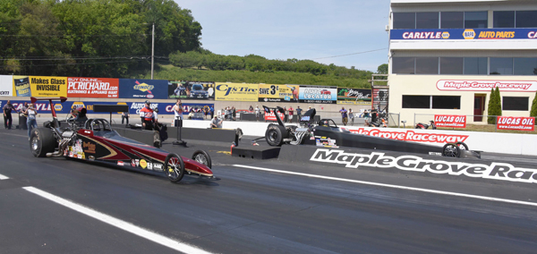 The finals of Top Dragster had