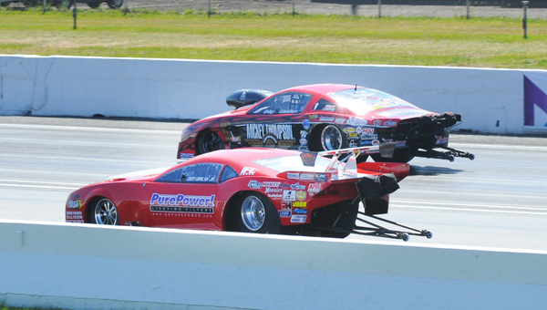 Glidden over in the finals of Pro Mod