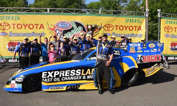 Matt Hagen Funny Car Champ