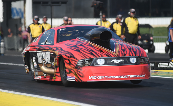 Second generation racer Bill Glidden took his first ever NHRA Pro Mod title at the Summers