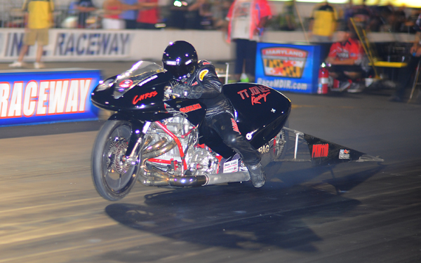 Defending PDRA Pro Extreme Motorcycle champ Eric McKinney
