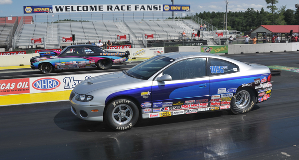 (far lane) won Super Street over the Pontiac of