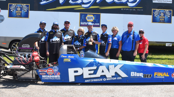 Duane Shields Top Alcohol Dragster Champ