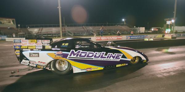 Matt Gill motors to the Funny Car win
